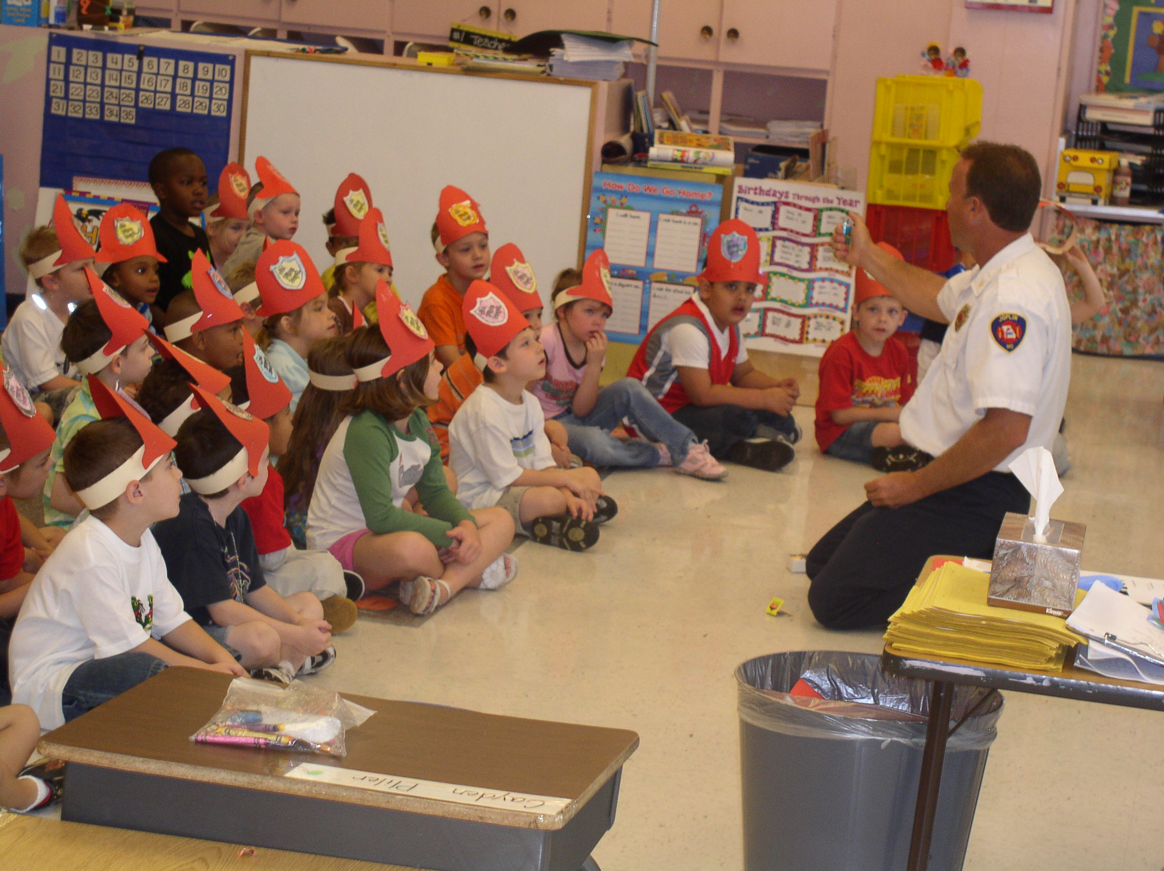 Fire Prevention Class