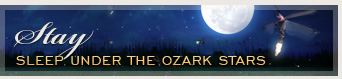 Stay - Sleep under the Ozark Stars
